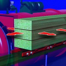 Lumber Treatment Animation