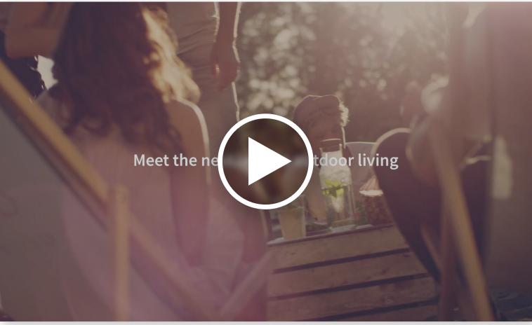 screenshot of video people sitting on patio